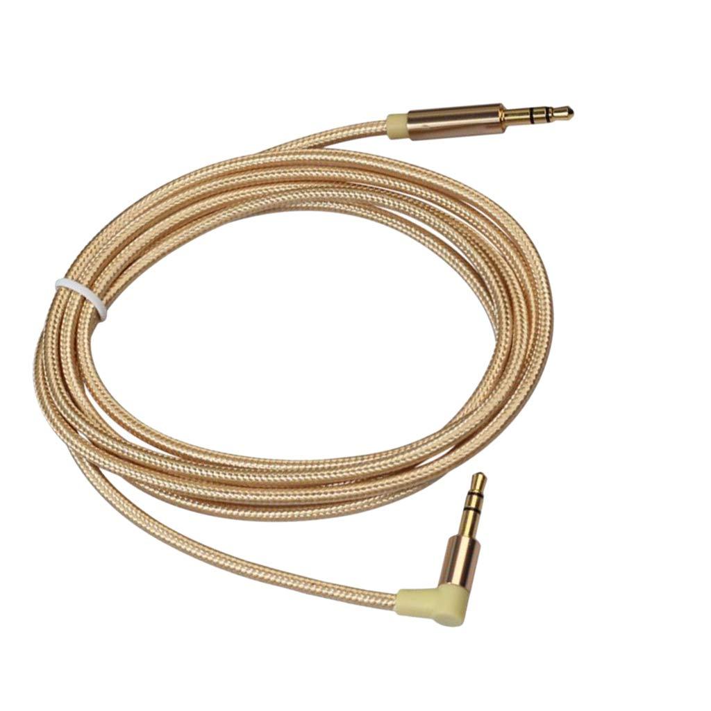 50cm Homyl 1 Pi/èce 1//8inch Jack 3.5mm M/âle /à M/âle Aux Audio C/âble Cordon Fil Ligne
