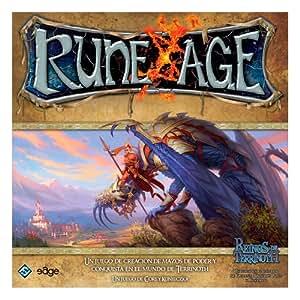 Reinos de Terrinoth RA01 - Rune Age, juego de mesa (Edge Entertainment RA01) - Rune age. Juego de cartas