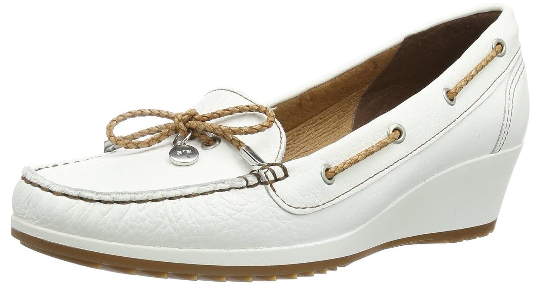 ara New-Haven 12-30932-07 - Mocasines de cuero para mujer, color blanco, talla 42