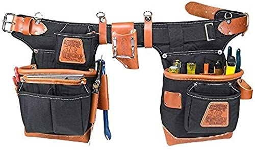 Occidental Leather 9850 Adjust-to-Fit Fat Lip Tool Bag Set – Black