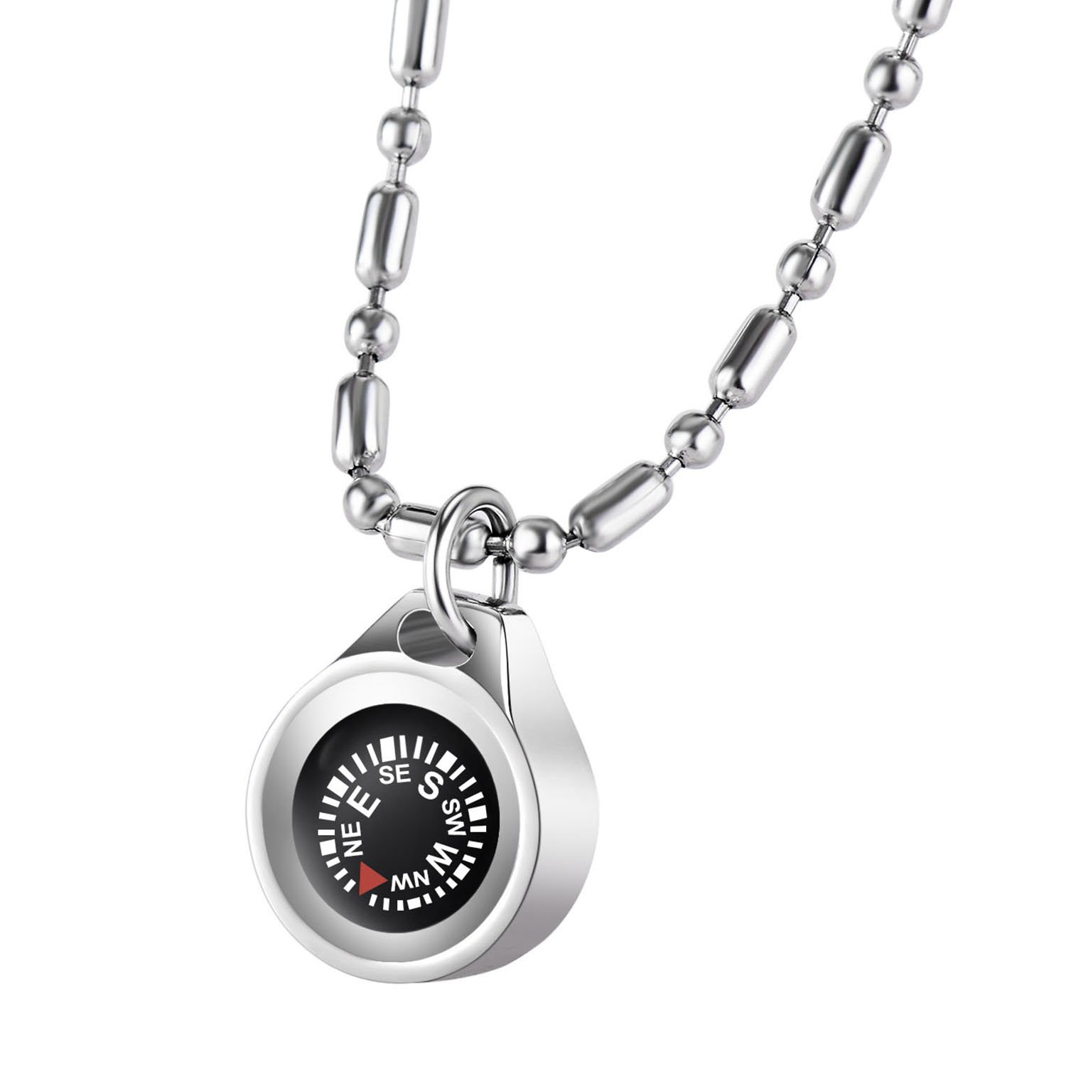 DAYHAO Navigation Compass Necklace, Waterproof Compass Outdoor Gift for Outdoorsman, Gift for Hikers, Gift for Campers, Luxurious Packaging, Stylish & Practical, Hiking Gift, Camping Gift by DAYHAO (Image #1)