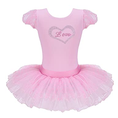 eee2dde6b11b Amazon.com  BAOHULU Kids Girl s Long   Short Sleeve Classic Ballet ...