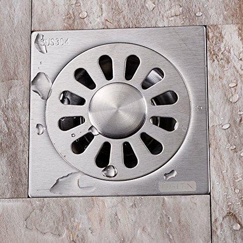 YLHM Ground leakage/stainless steel floor drain gravity turnover plate type quick drain ground drain,Floor drain of washing machine