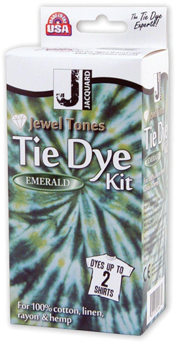 Jacquard Jewel Tones Tie-Dye Kit (Emerald) JAC9452