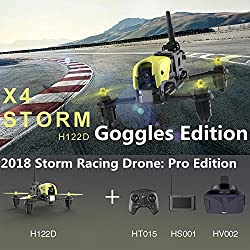 2. Hubsan X4 Storm Professional Version with LCD Video Monitor and HV002 Goggle.