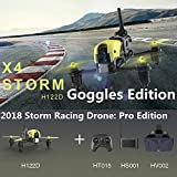 Hubsan X4 Storm Professional Version H122D FPV Racing Drone 3D Flip with...