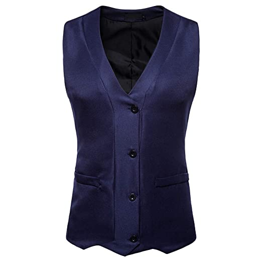Yvelands Liquidación Chalecos Activos, Mens Camisas Casuales Chaqueta de Chaqueta de Bolsillo Top Coat Outwear Caliente: Amazon.es: Ropa y accesorios