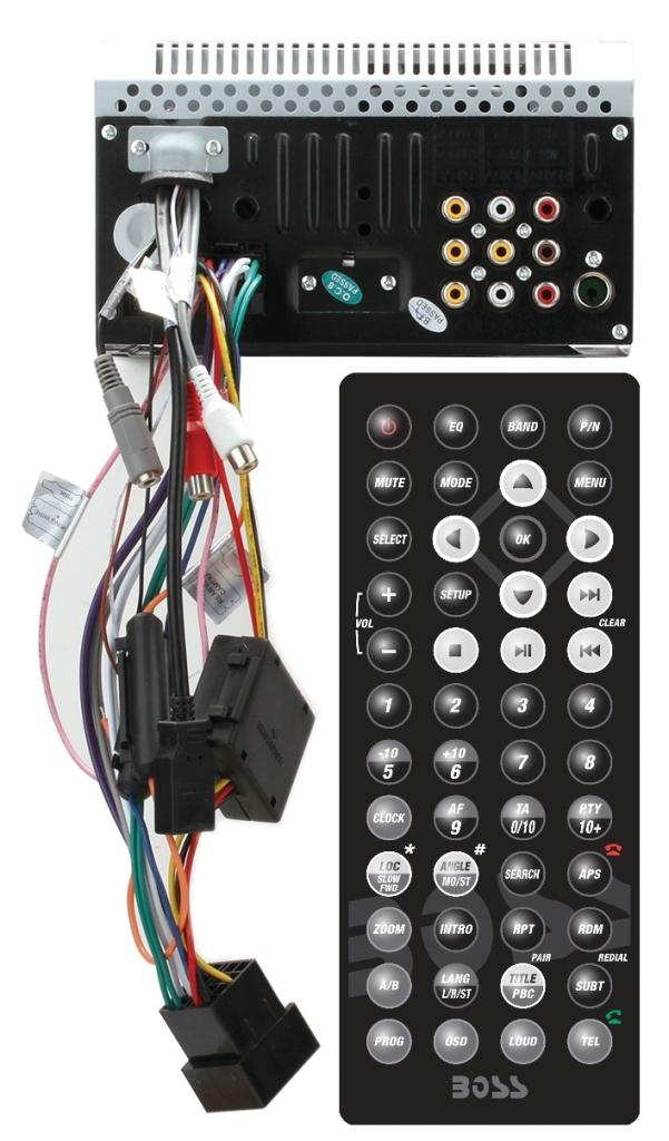 boss audio wiring harness boss bv9362bi wiring harness amazon com boss audio bv9368i double din 6 2 inch