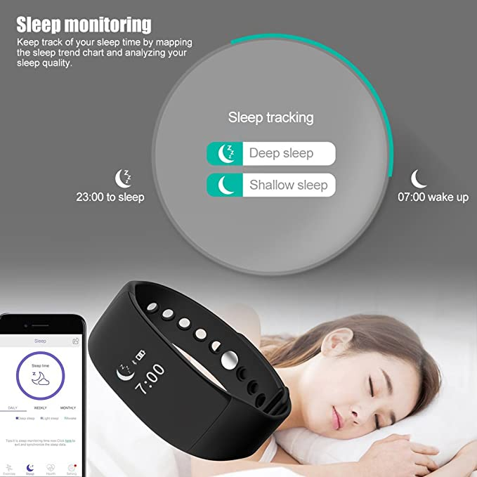 LIGHTOP Smartwatch V66 LED Pantalla táctil Teléfono Llamadas ...