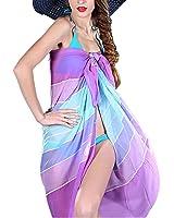 LerBen® Women Ladies Sexy Summer Swimwear Sarong Dress Wrap Beach Cover Up Scarf Sun Dresses