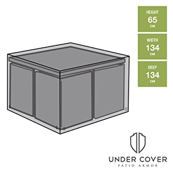 Under Cover Housse de protection pour salon de jardin carré 4 places ...