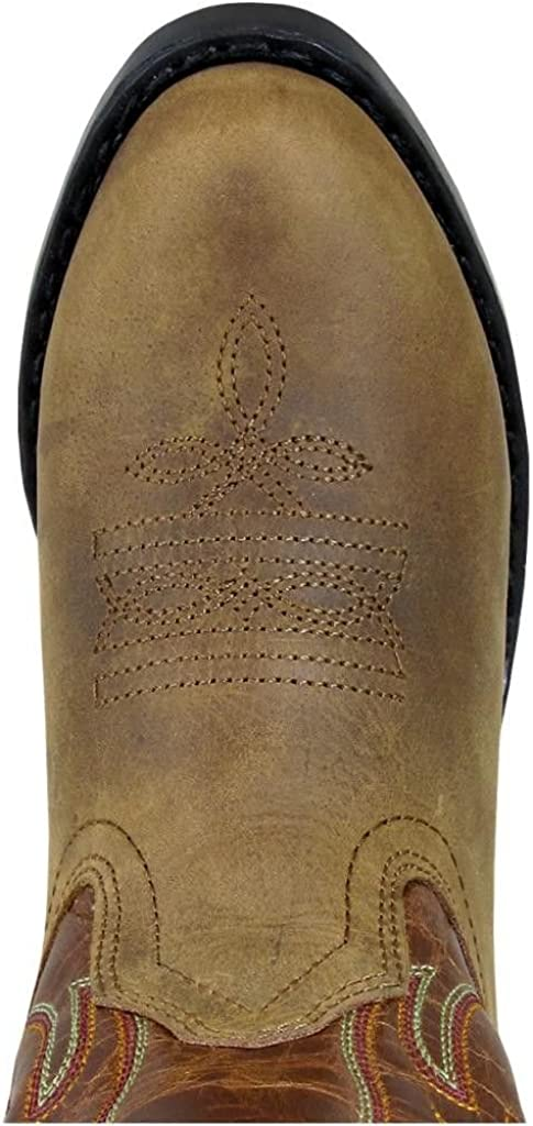 Smoky Mountain Boys Tonto Western Boot Round Toe Brown 3 D