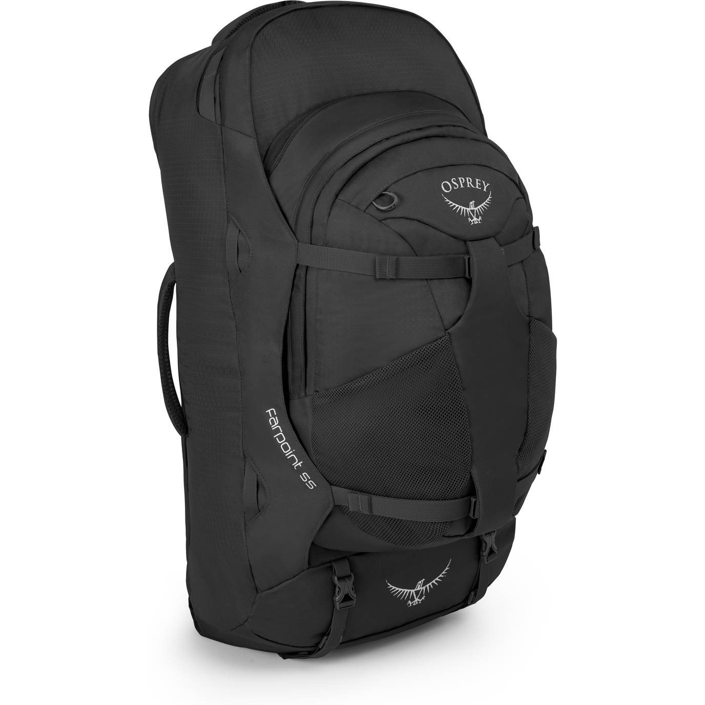 Osprey Packs Farpoint 55 Travel Backpack, Volcanic Grey, Small/Medium