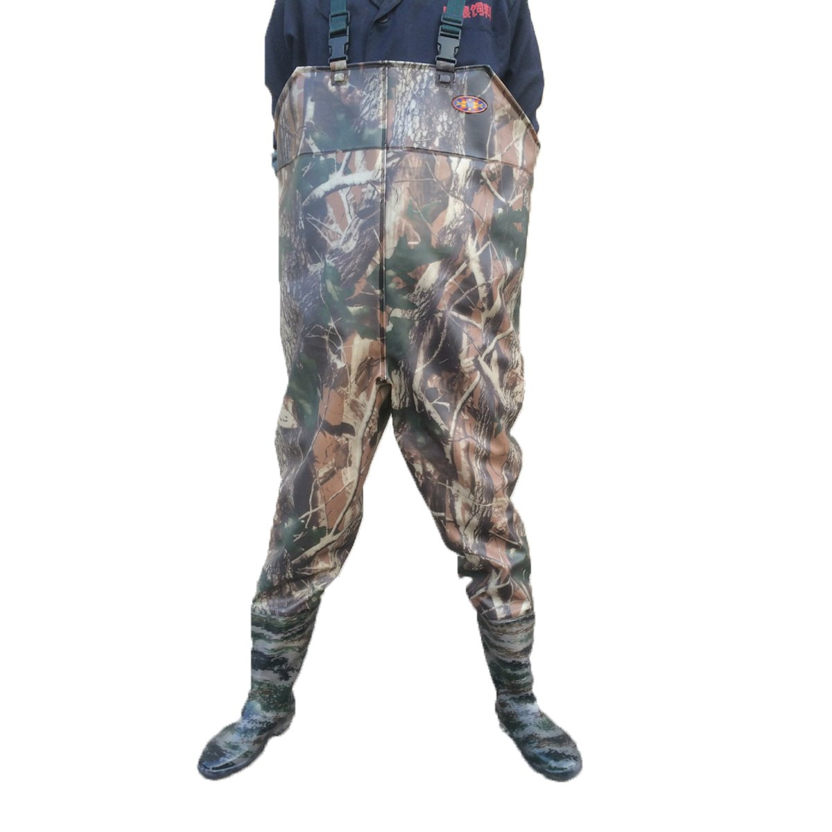 hiyoli釣りBoot釣りハンティングPVC防水boot-foot Chest Wader 10  B0735GNZSH