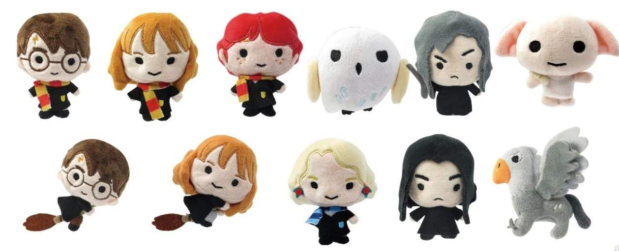 Monogram Harry Potter 3D Plush Llavero (1 Random): Amazon.es ...