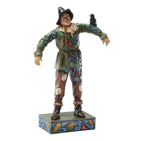 Amazoncom Enesco Jim Shore Wizard Of Oz Scarecrow Figurine 8 Inch