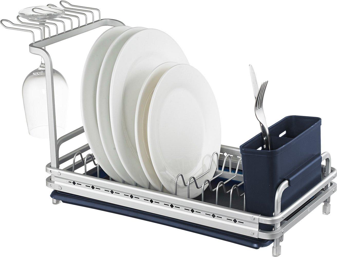 Amazon: Surpahs Aluminum Small Dish Drying Rack, Never Rust: Kitchen &  Dining