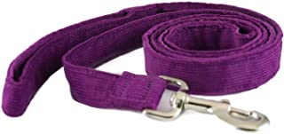 """product image for The Good Dog Company-- Hemp Corduroy SIX FT Dog LEASHES Available in 9 Colors (Rust, Marigold, Bronze, Avocado, Blue, Plum, Pink, Red, Black) Sold in 1"""", ¾"""", ½"""" Widths"""
