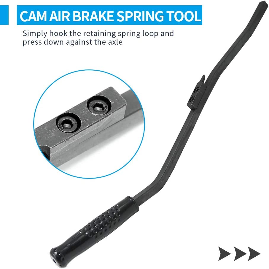 5081 S-cam Air Brake Spring Tool Heavy Duty Brake Tool Replacement for Heavy Truck Tractor and Trailer