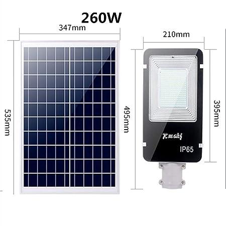 Rmckj-Q Luces De Calle Solares LED Proyector Al Aire Libre Luz De ...