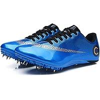 ZRSH Zapatillas de Atletismo Unisex, 8 Clavos de competición de Atletismo al Aire Libre Zapatillas de Clavos Deportivas…