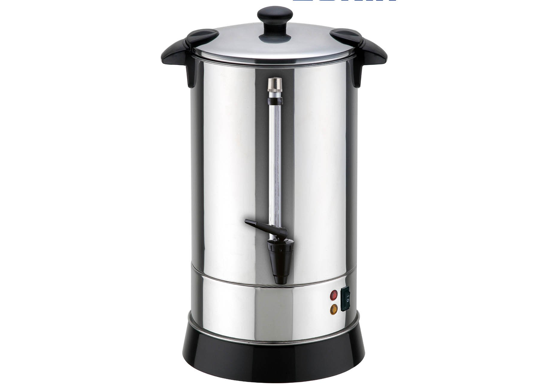 Double Walled Hot Water Urn with Shabbat Switch (40, 50, and 100 Cup Sizes) (50 Cups (10 Liters))
