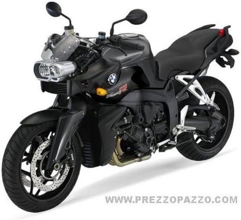 2 Aufkleber Tank kompatibel mit BMW Motorrad K1200R K1200 Stickers K 1200 R Schwarz-Rot 17x4