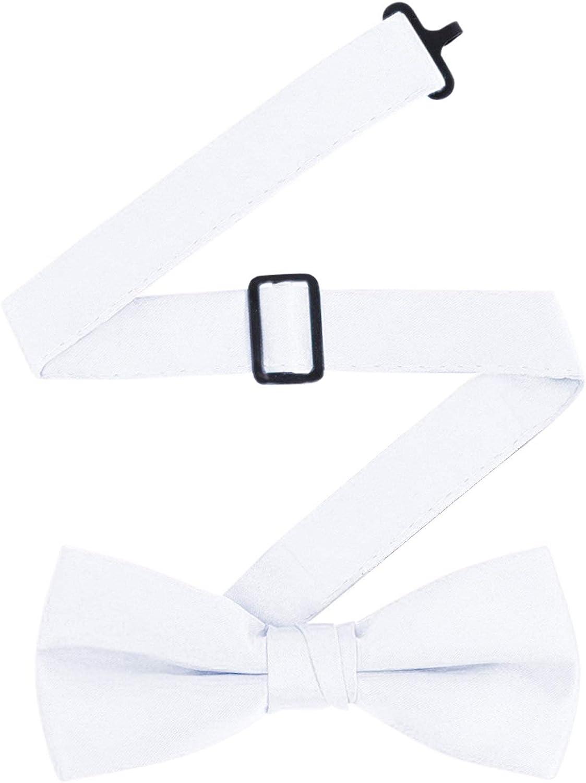 Mens Satin Backless Vest /& Bow Tie Set Churchill /& Co S.H Black /& White Available