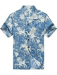 Men's Hawaiian Shirt Aloha Shirt in New Classic Design