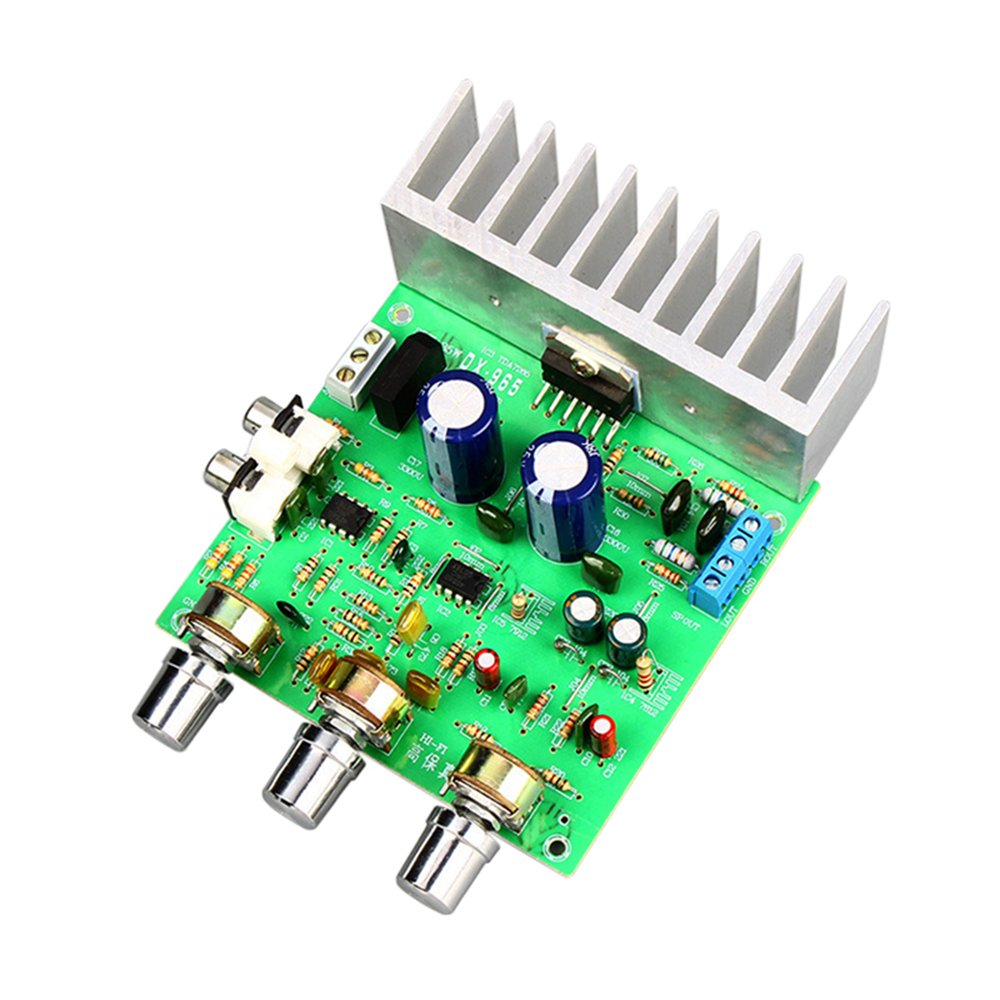 AOSHIKE TDA7265 Audio Amplifier Board 40W+40W 2.0 Channel Stereo Amplificador DIY Sound System Speaker Home Theater Dual AC12V by AOSHIKE