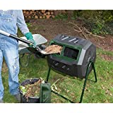 Exaco Mr. Spin 43 Gallon Stationary Compost Tumbler