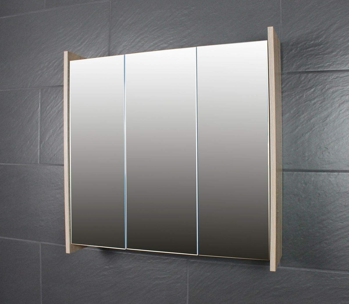 Galdem FROSTI Spiegelschrank Badezimmerschrank 70cm ...