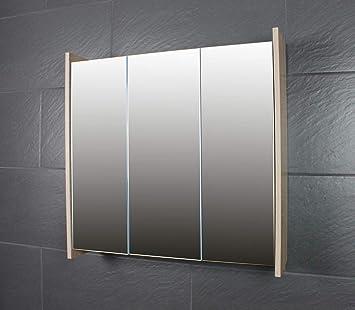 Amazon De Galdem Frosti Spiegelschrank 70cm Badezimmerschrank