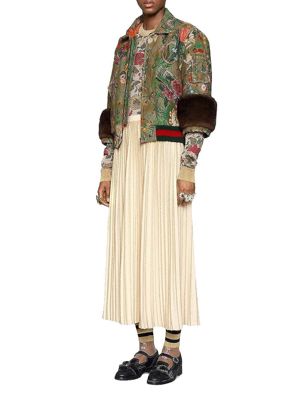 Gucci - Chaqueta - para Mujer Verde 40: Amazon.es: Ropa y ...