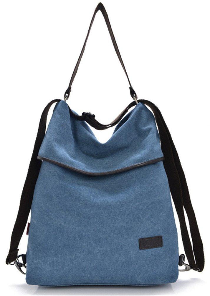 ERGEOB Damen Handtasche/Schultertasche Blau