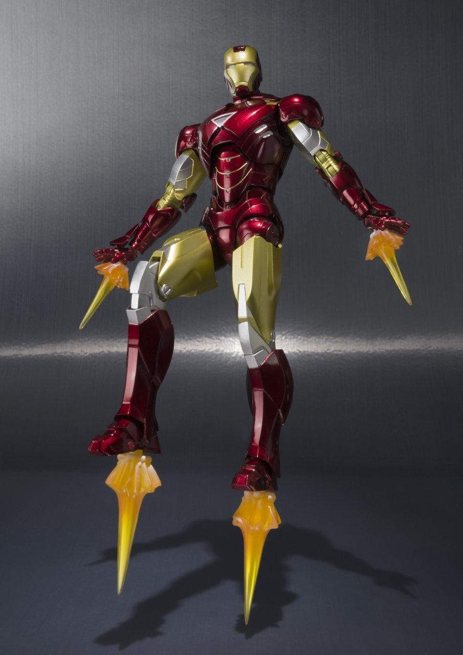 Bandai Tamashii Nations ''Iron Man 2'' S.H. Figuarts MK. VI & Hall of Armor Set by Tamashii Nations (Image #3)