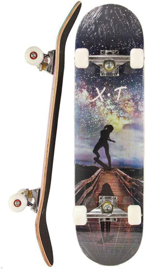 """Coffin Fun style  skateboard deck 6.875 x 23/"""" Quality 8 ply Canadian maple C3"""