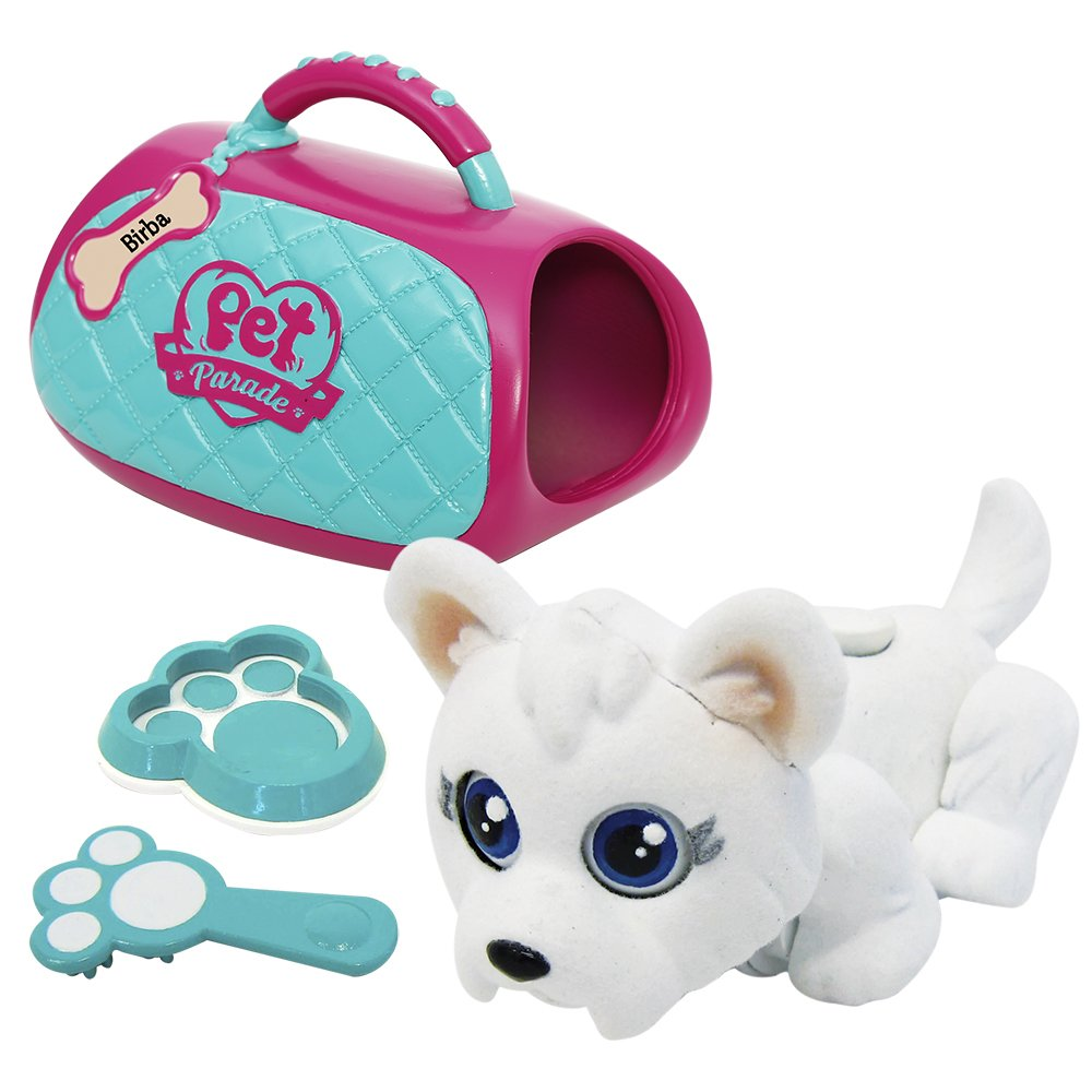Pet Parade - Deluxe Bag con 1 Cachorro Exclusivo (Giochi Preziosi 18550) cachorro bag cachorro pet cachorro pet parade