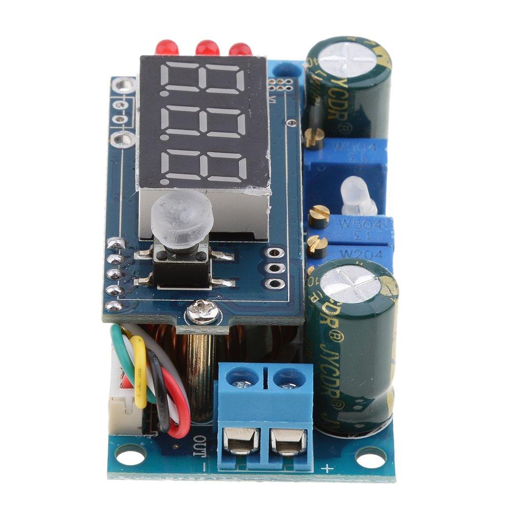 MagiDeal 1x MPPT Convertisseur Module Abaisseur R/égulateur de Tension 6-36V /À 1.25-32V 5A