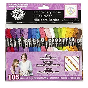Embroidery Floss, Value Pack by Loops & Threads