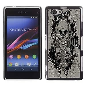 Dragon Case - FOR Xperia Z1 Compact D5503 - ?you love also loves you - Caja protectora de pl??stico duro de la cubierta Dise?¡Ào Slim Fit