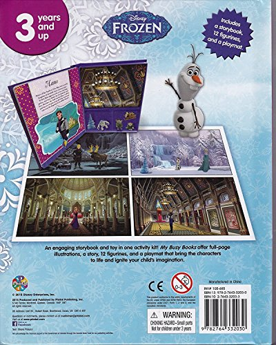 Frozen Story Book Playmat and 12 Figurines