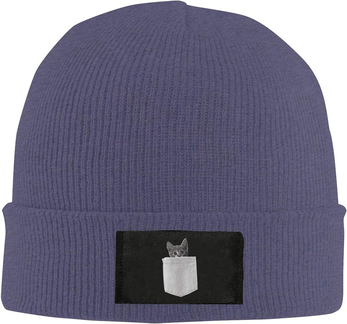 Unisex Stylish Slouch Beanie Hats Black NWPYAU Top Level Beanie Men Women