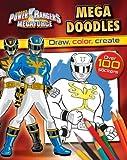 By Parragon Books Power Rangers Megaforce: Mega Doodles [Paperback]