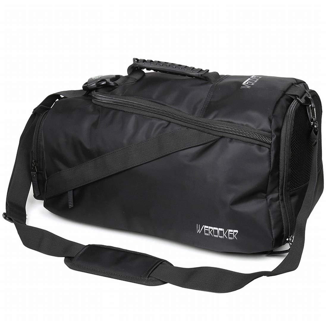 Souliyan Basketball Bag Training Bag Backpack Shoulder Messenger Bag Travel Sports Fitness Bag Dry and Wet Separation