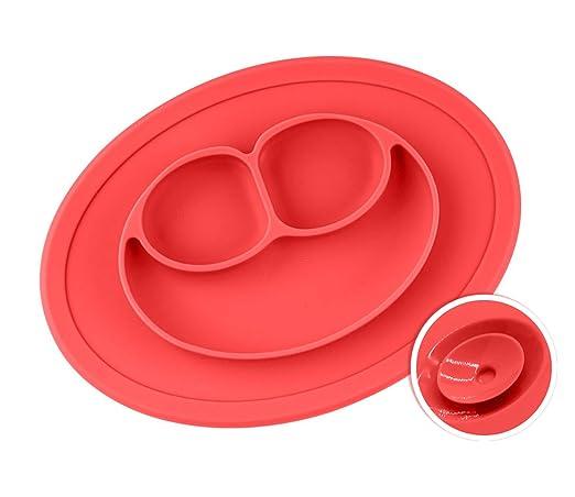 32 opinioni per Chuckle baby placemats- Divider Food Trays Tovagliette in silicone per bambini-