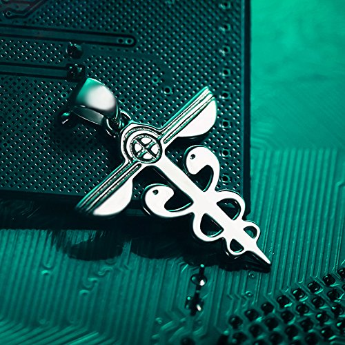 925 Silver Chain >> Onecos Anime Psycho-pass Logo Necklace Cosplay (925 ...