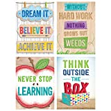 Upcycle Style Inspire U Motivational stickers add just a bit of inspiration wherever it is needed! On a child's paper, in a scrapbook, on a greeting card, or on a gift for a loved one, these stickers motivate, inspire, and put a smile on the face of ...