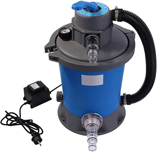 POMPA FILTRO MOTORE 6,5 m³ per filtro sabbia sabbia impianti FILTRO