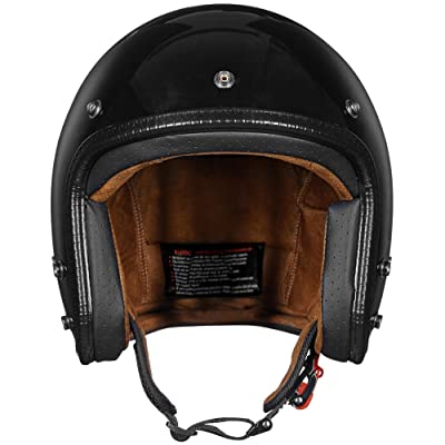 ILM Motorcycle Helmets ATV Dirt Bike Cool Open Face 3/4 Half Helmet
